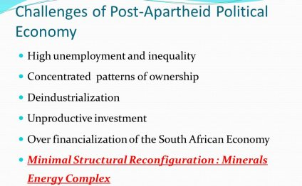 Challenges of Post-Apartheid