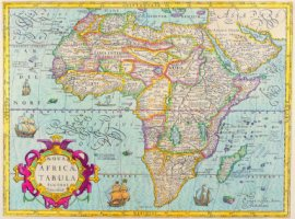 Map of Africa - The Map House of London/ Stockbyte/ Getty Images